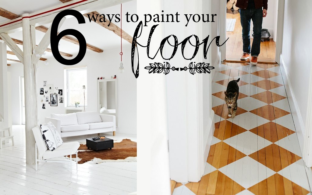 6 Ways To Perfectly Painted Floors Homeology