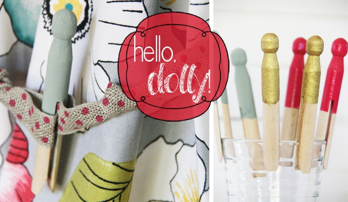 7 Ways with Darling Dolly Pegs