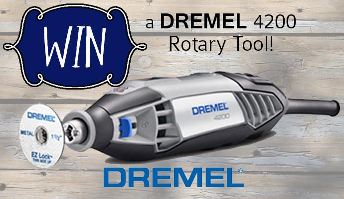 DREMEL 4200 Rotary Tool Give-Away