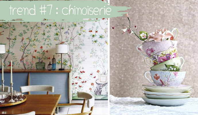 TREND #7: Chinoiserie