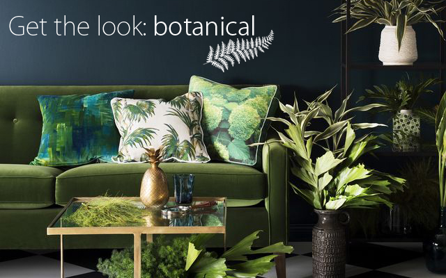 Get the look – botanical