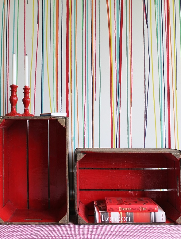 Room Paint DIY: Drippy Wall