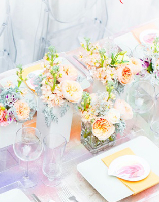 Watercolour tablescapes