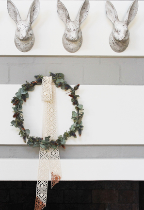 Watercolour Christmas Wreath DIY