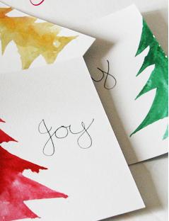 A little Christmas Card DIY