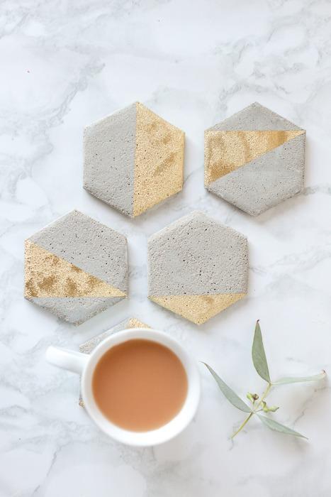DIY Cement Coasters