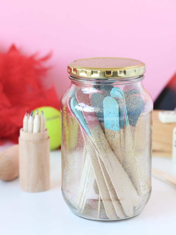Winter Ideas Jar DIY
