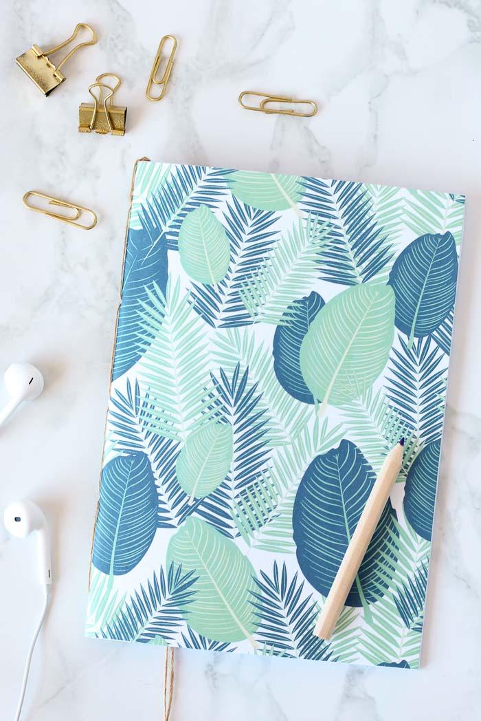 No Glue DIY Notebook