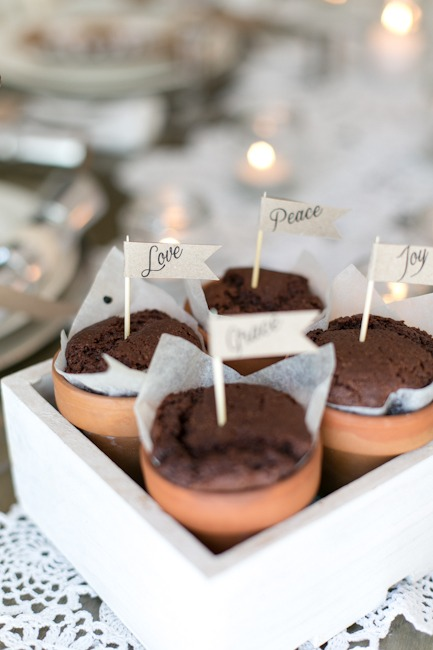 How to make delicious terracotta pot chocolate muffins