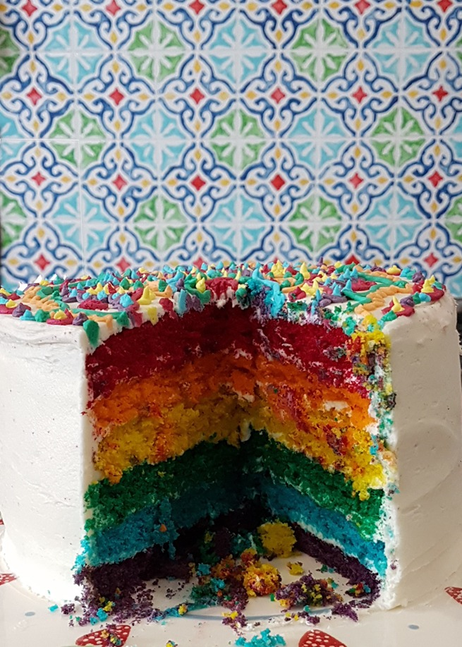 Have your Rainbow Mandala Cake this Heritage Day and Eat It!