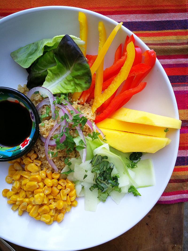 Sumptious Summer Veggie Souk Bowl for a Healthy Supper