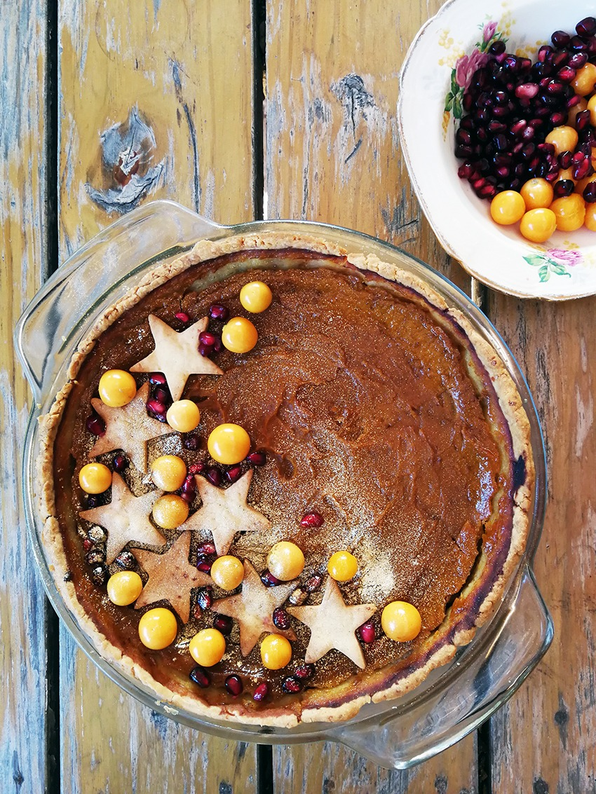 Deliciously Moreish Gluten-Free Pumpkin Pie for Supper