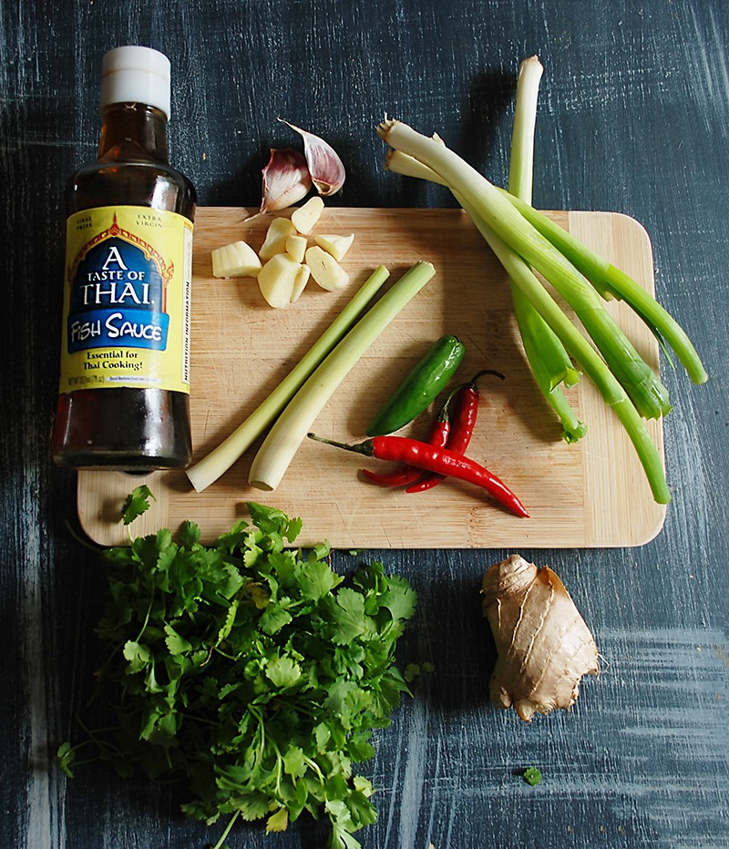easy home made thai green curry paste ingredients
