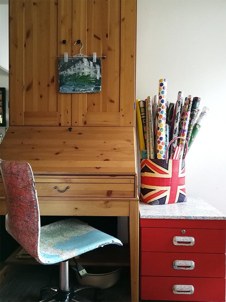 cosy study corner