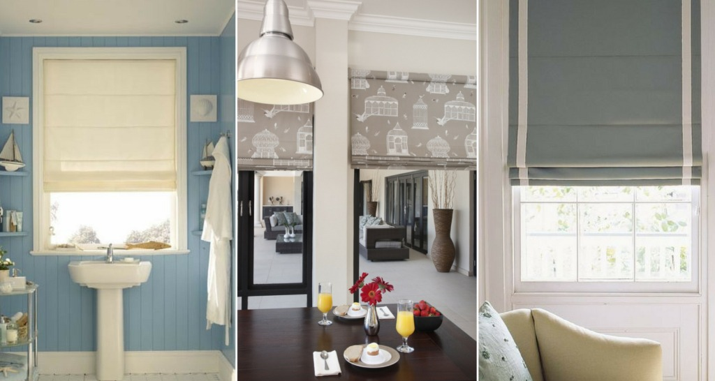 Keep Warm with Roman Blinds