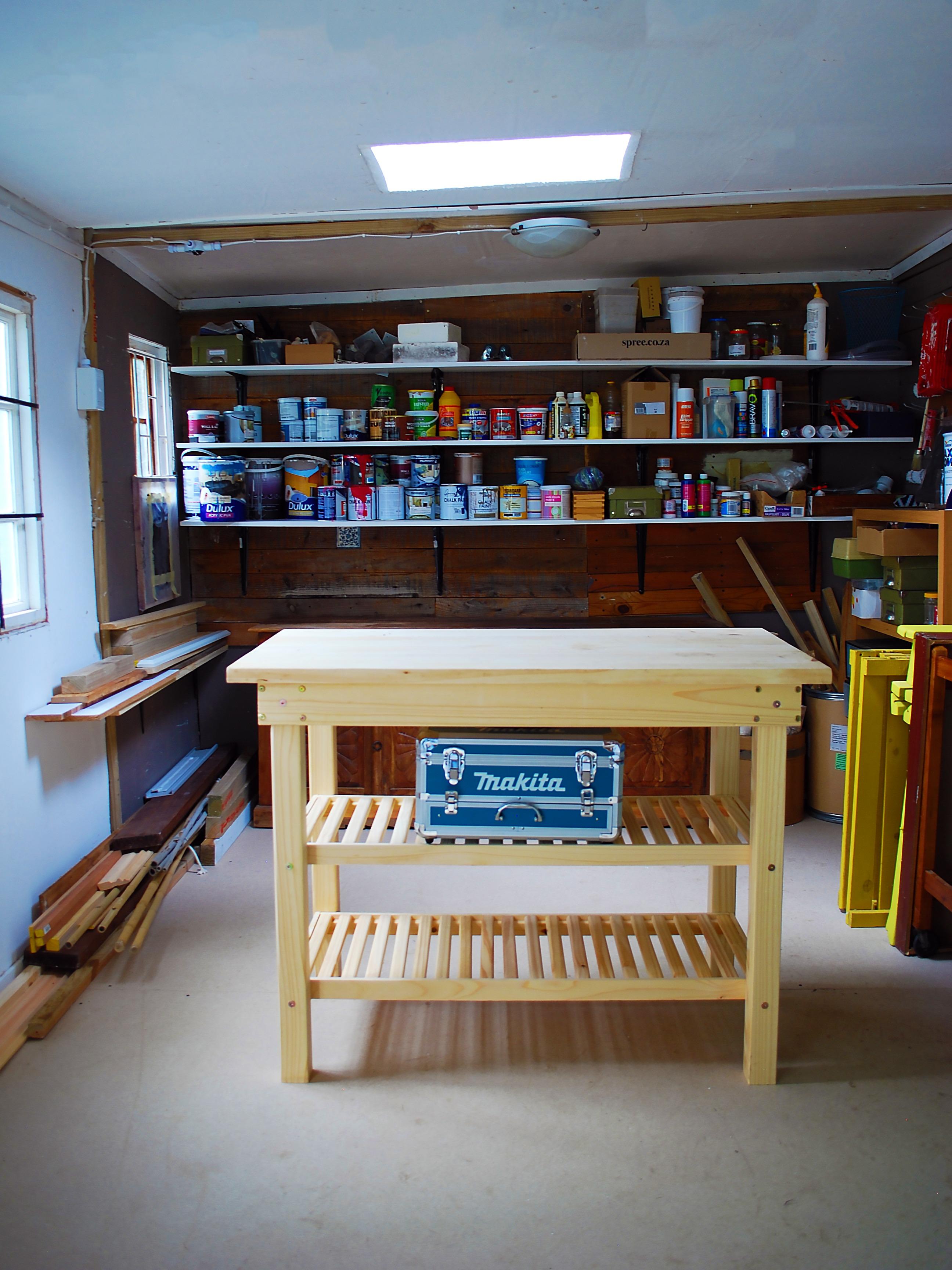 makita drill workbench