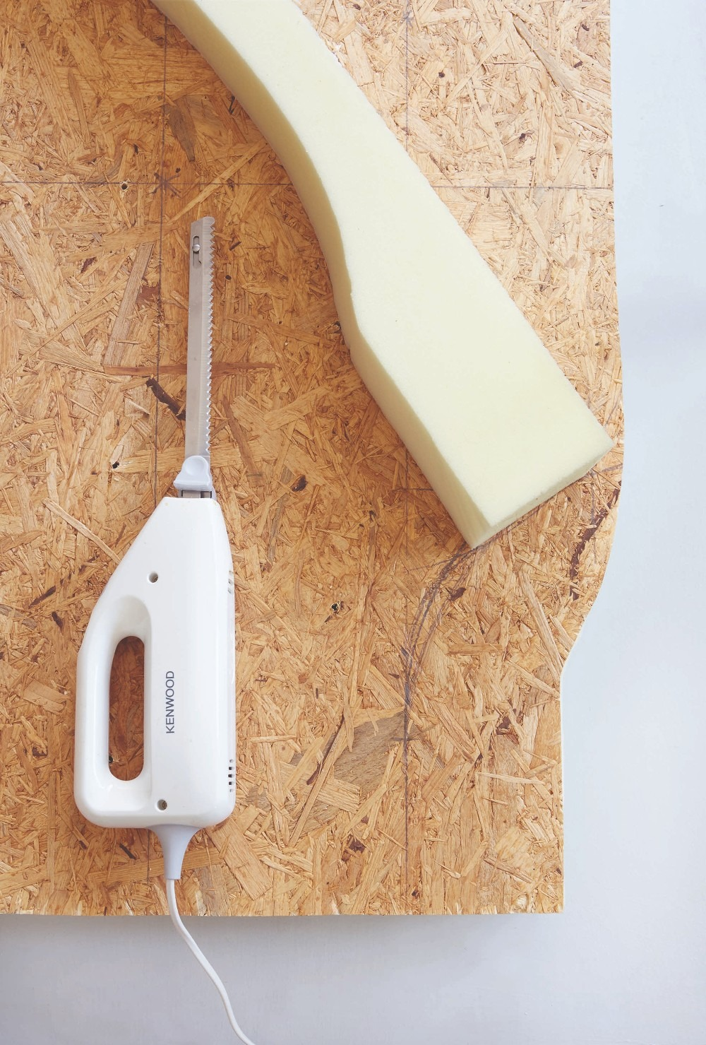 chipboard foam saw