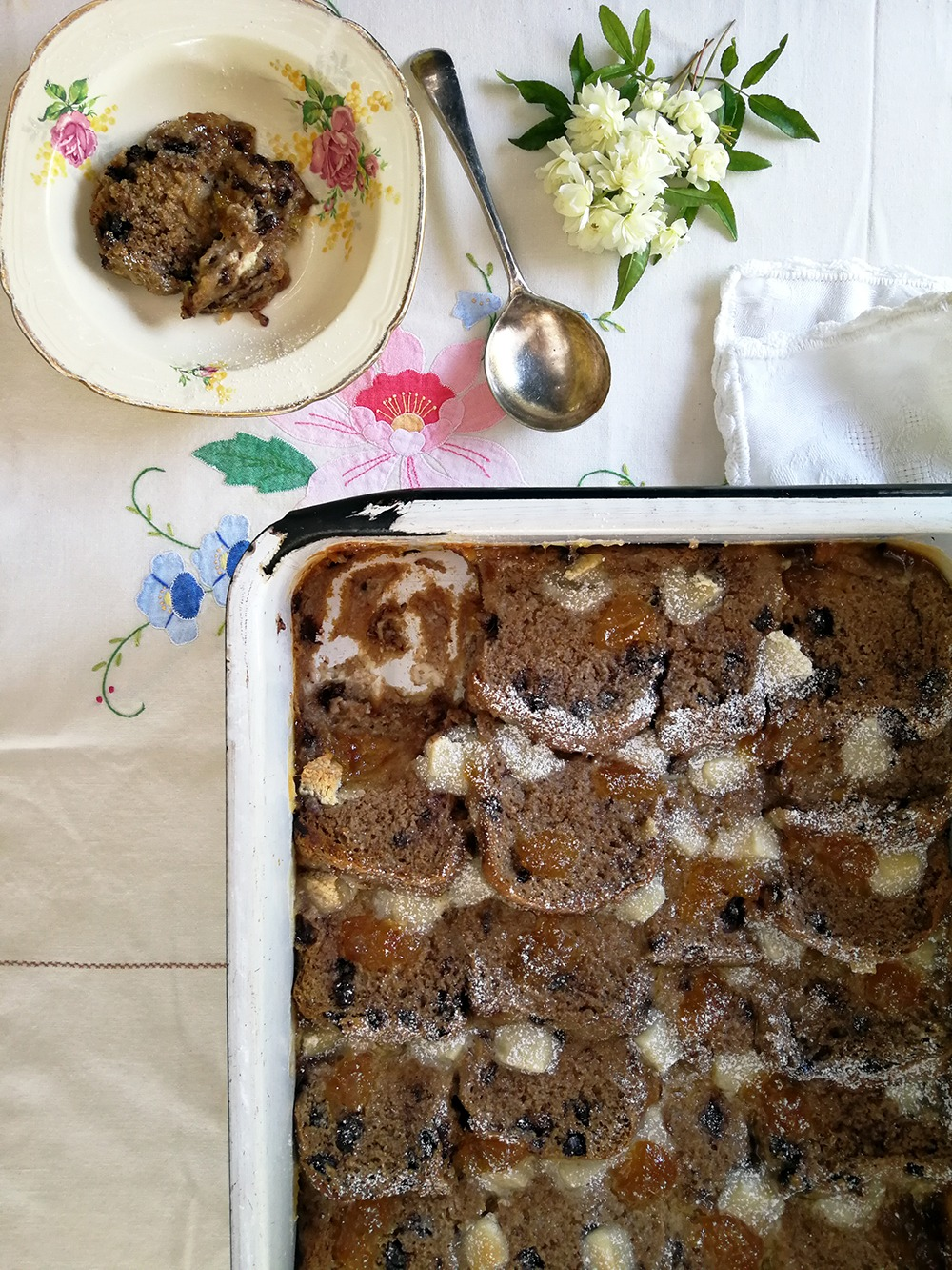 Bread and Butter Pudding with a Twist