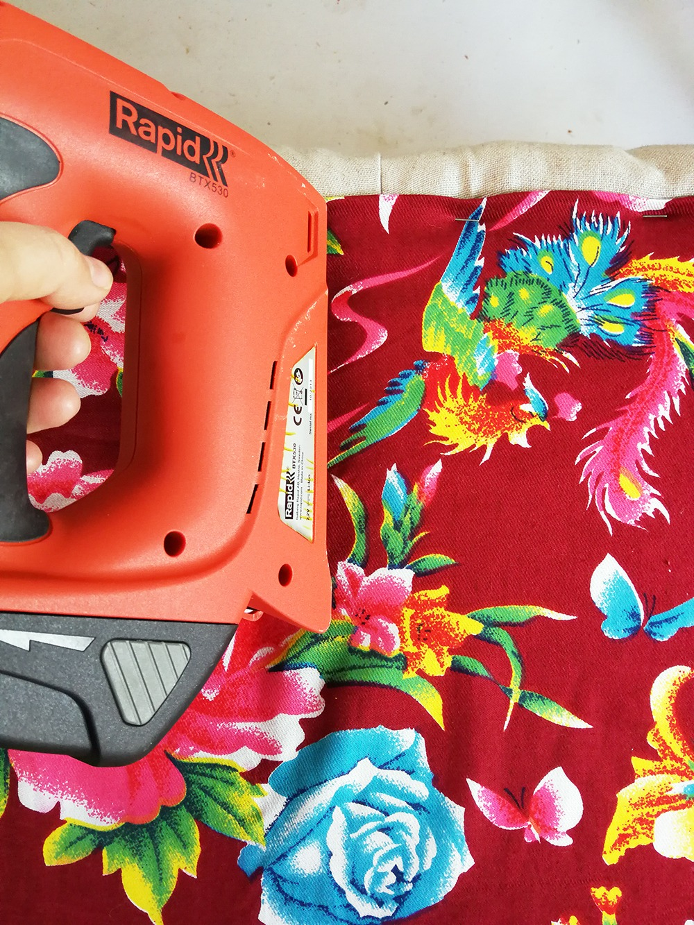 chinese floral fabric
