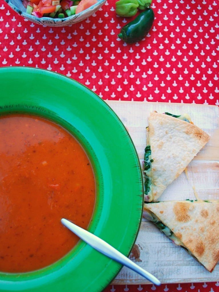 mexican-soup-with-quesadilla-dippers