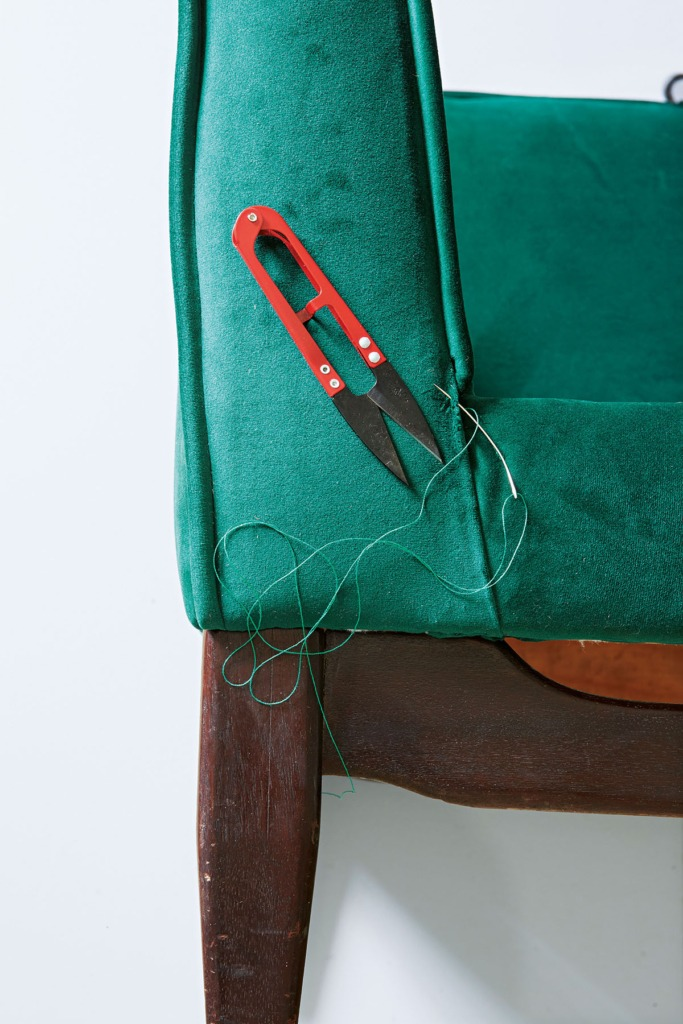 How to Repair a Mid Century Sofa with Photos