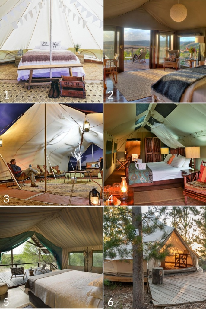Top Luxury Tents in South Africa for Camping