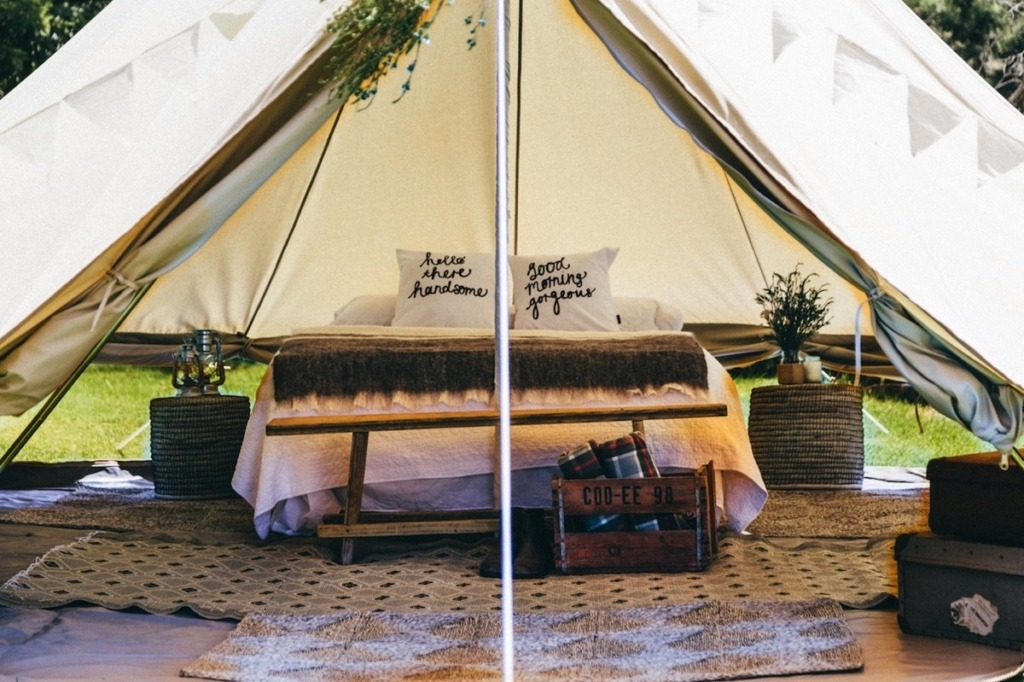 how to make a luxury tent - the basics