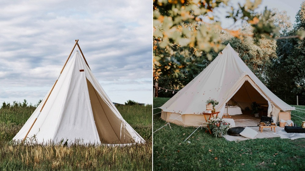 how to make a luxury tent the different luxury tent shapes