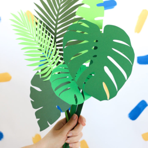 Botanical Paper Leaves - DIY and Free Download